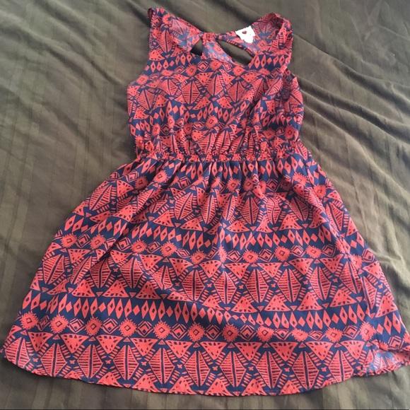 clothi Dresses & Skirts - Tank top tribal print dress